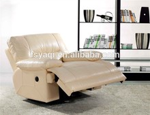 Sectional sofa style electric recliner sofa remote control