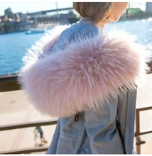 Women Winter Multi Color Down jacket Lined Parka With Genuine Raccoon Fur Hood