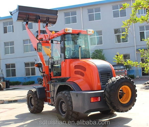 CE approved 2t wheel loaders hydraulic earth moving equipment China made