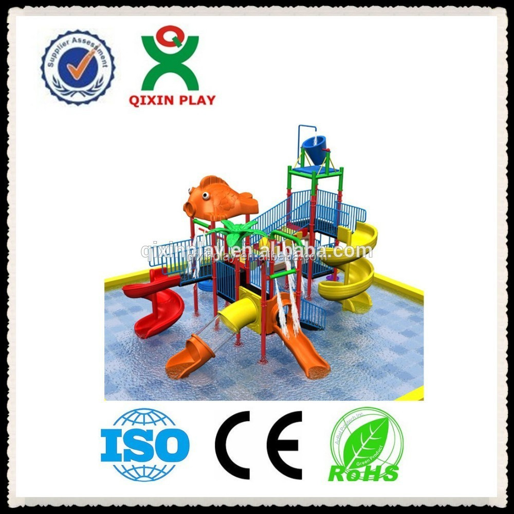 aquatic playground equipment water parks in chicago water sprinkler for kids(QX-S003)