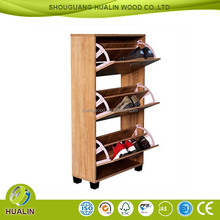 living room cabinet wooden material shoe rack