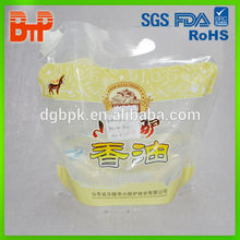Professional factory supply aseptic heat seal spout pouch liquid bag