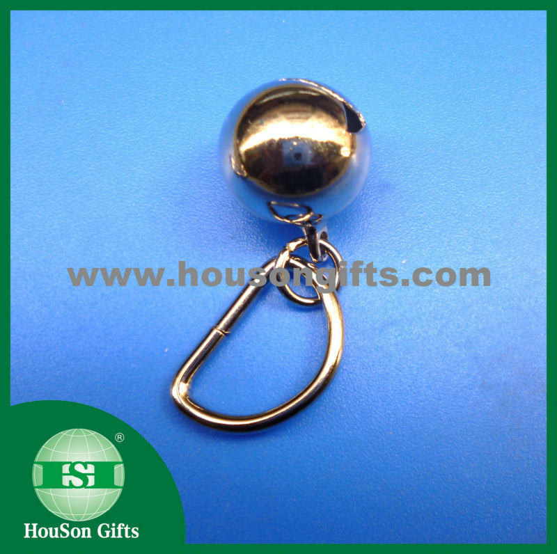 cross Metal christmas tree decoration jingle bell