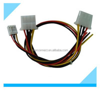 motorcycle molex 2510 connector wire harness for automotive