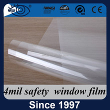 Hot sale laminated fabric window transparent safety film with high quality