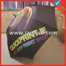Double Cycles Totes Automatic Stick Golf Umbrella Blue Other Wholesale best compact umbrella