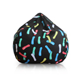 colorful lazy boy bean bag mini bag for kids