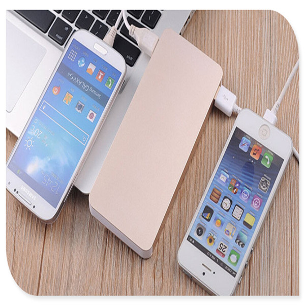 Wholesale ipower power bank with keychain 2200/2600HAM square shape plastic power bank ,Free sample