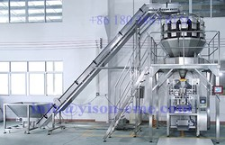 CE approved Frozen food Packaging Machine, Automatic Frozen Dumpling and Meatball Packing Machine with Best Price