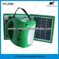 solar energy lantern for no electricity family lighting