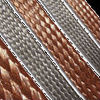 Annealing flexible copper flat braid wire
