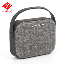 High quality stereo V4.0 wireless portable waterproof powerful vintage bluetooth speaker