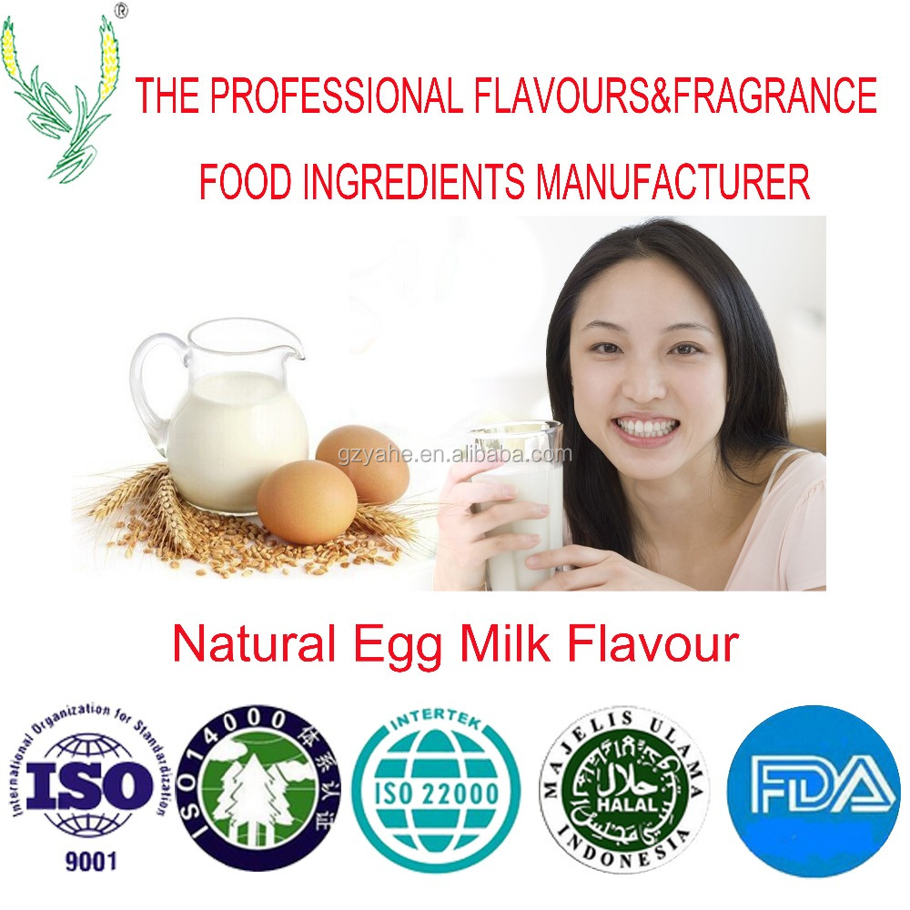 High concentration of natural egg milk flavour ,applied for all kind products,Factory direct sale