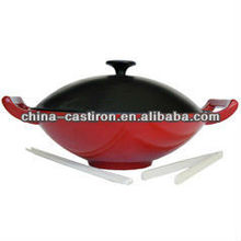 enamel cast iron colorful cookware set