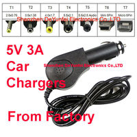 5V 3A Car charger for Novo 9 Spark Fireware Quad Core Android Tablet PC