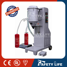 fire extinguisher refill machine/used fire extinguisher equipment/fire extinguisher refilling equipment