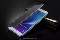 Electro Plated Filp Cover for Samsung Galaxy S7,with mirror front