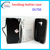Wallet leather case for Digicel DL750,leather cheap mobile phone case for Digicel DL750 cover