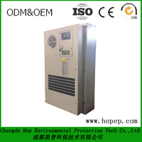 IP55 300W industrial air conditioner For Outdoor Telecom Electric Battery Cabinet and Shelter