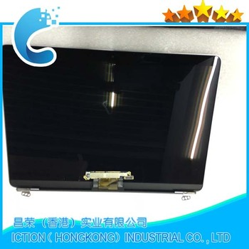 "Wholesale price lcd assembly upper top- half replacement part For MacBook A1534 12"" new laptop gold"