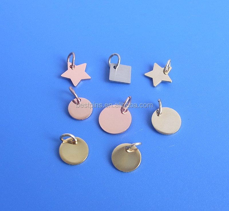 personlised gold/silver/rose gold necklace pendant charm