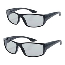 3d Glasses Cinemas, Plastic Passive Circular Polarized Glasses for Sony, LG,Smasung 3D Normal TVs&RealD 3D Cinemas Movies