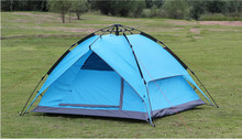 Fiberglass Pole Waterproof Fly Double Layer Camping Tent Outdoor Tent Camping Tent