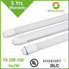 5 year warranty led tube integrated dimmable feature available