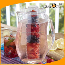 Hotel Usded 2.8L Fruit Infuser Plastic Water Pitcher for Selling