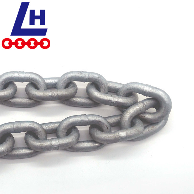 G30 HOT DIP GALVANIZED ORDINARY MILD STEEL SHORT LINK CHAIN
