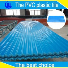 anti thermal plastic corrugated architectural roof sheet