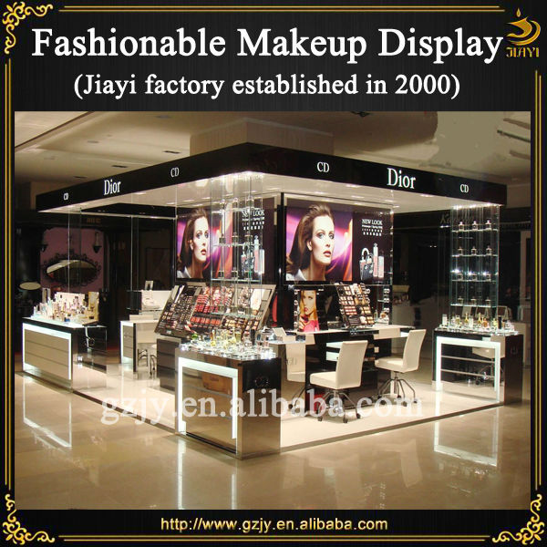 Expo Stands Eyeshadow : High quality cosmetic exhibition booth for trade show