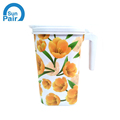flower design in mould label for kettle
