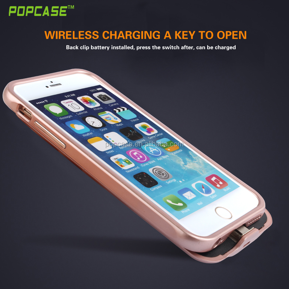 NEW 3000mAh For iPhone 6 6s Portable Battery Backup Charging Power bank Case For iPhone6 6s Retail and wholesale