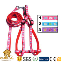 Dog Product Nylon Rope Dog Leash And Harness Factory Supplied Pet Collars & Leashes