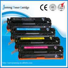 Compatible color laser toner cartridge of CB540 CB541 CB542 CB543 for HP Laser Jet cp1215 cp1312 cp1515n cp1518