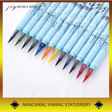 Art Supplies 10 Colors Watercolor Brush Pen Water Color Painting Brush For Kids
