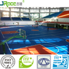 China Products Anti Abrasive Sport Arena Silicone PU Floor Outdoor Sport Surfacing