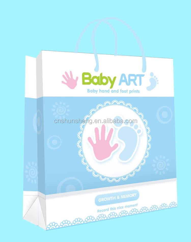 Baby Handprint Footprint Art Newborn Baby