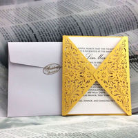 3d laser cutting birthday greeting card