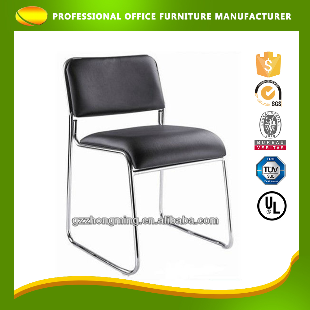 Custom Cheap Low Price Leather Meeting Conference Office Visitor Chair