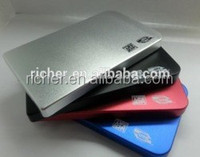 High Quality Hdd Enclosure USB2.0 super slim Portable Hard Disk driver