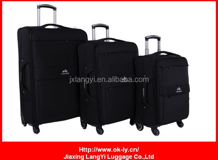 EVA 4 wheels trolley luggage bag 3pcs/set