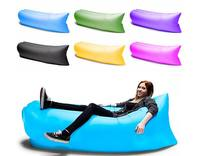 2016 fashion popular lazy lamzac hangout inflatable air sleeping bag/sofa/couch bed for outdoor camping