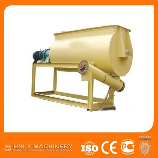 Single Shaft Paddle Mixer Small Animal Feed Mill Mixer Machine