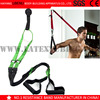 Functional fitness training exercises, suspension strap training exercises