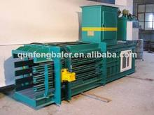 Automatic horizontal hydraulic plastic film compactor for sale