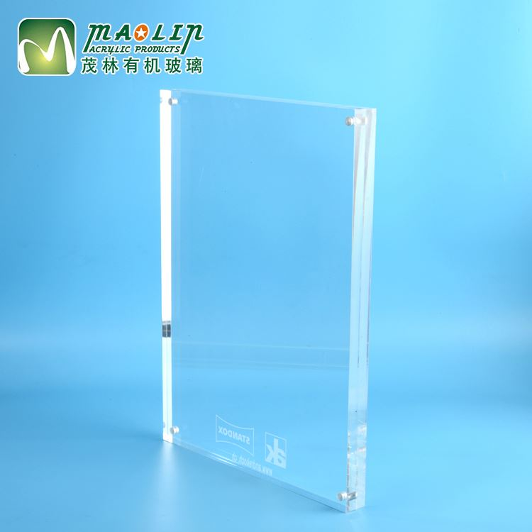 Customized home Picture fashion plexiglass clear Acrylic Frames Wholesale Chinese original photo frame