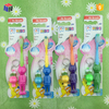High quality plastic wholesale kids toothbrush with gift cap