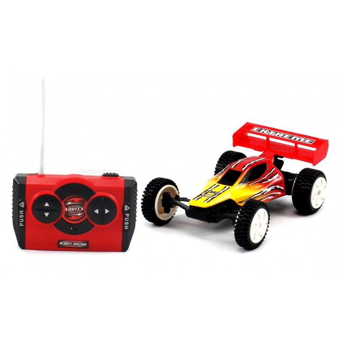 "4"" Mini Vortex X900 Electric RC Buggy High Speed 15 MPH RTR w/ Turbo MC900 Red"